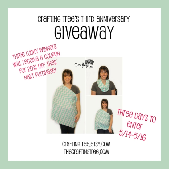 Third Anniversary Giveaway Blog